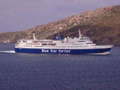 superferryII arriving @andros 280505 c