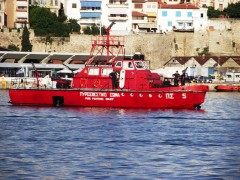 Hellenic Fire Fighting boat