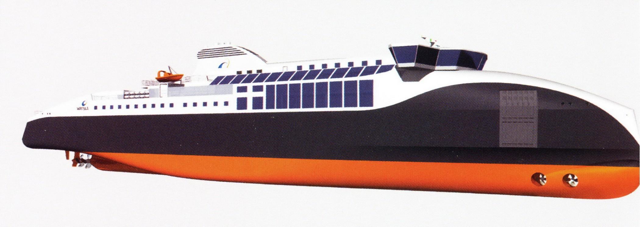 LNG Ferry by Wartsila
