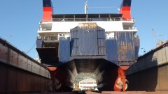 EXPRESS SKIATHOS HULL DRY DOCK