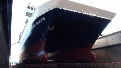 EXPRESS SKIATHOS BOW DRY DOCK