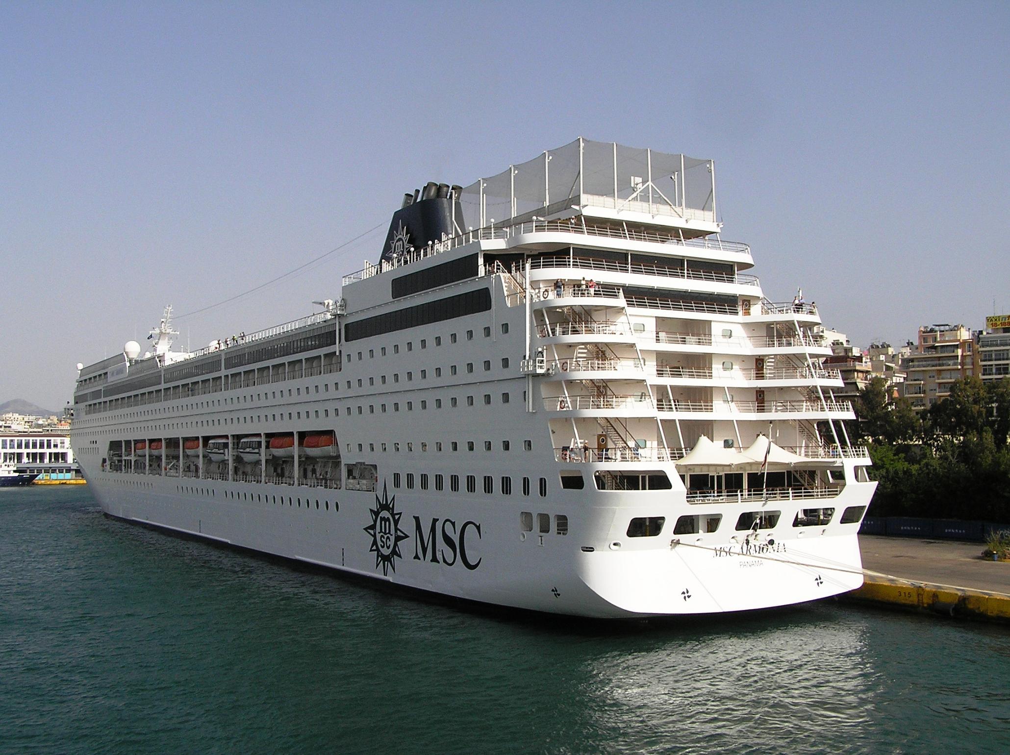MSC Armonia MSC Armonia Shipfriends - Msc armonia