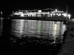 Lato, Souda port, evening 16 12 2011