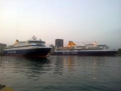 BS Naxos & BS Delos @ Pireaus 09.07.2012