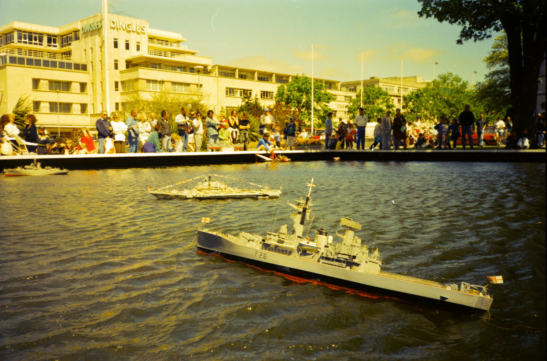HMS Cleopatra model