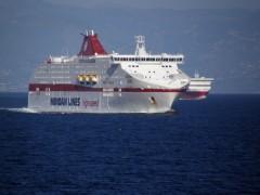 cruise europa@ patras gulf westbound 170711 a