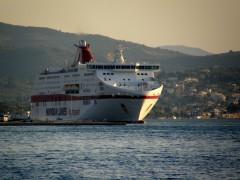 cruise olympia@ patra south port 130911