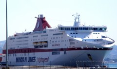 cruise olympia@ patra New port 020811