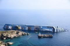 Costa Concordia at Isola Del Giglio