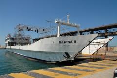 Μelina II @ In port of Piraeus
