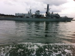 F235 HMS NORTHUMBERLAND