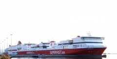 superfast VI  cruise olympia superfast I & II@ patra 211011 B