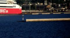 patra New port breakwater green beacon 170711 A