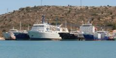 Ships in Salamina 12/06/2012