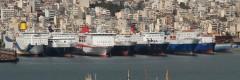 Ships In Perama 14/04/2012