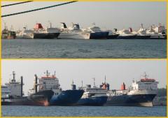 Ships in Drapetsona 27/11/2011