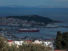 Mytilene port 2005