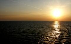 sunset @over the adriatic 140511