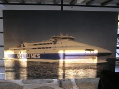 Port Of Paros Aeolos Kenteris II