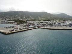 Port of Paros island