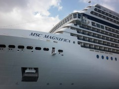 MSC MAGNIFICA At istanbul