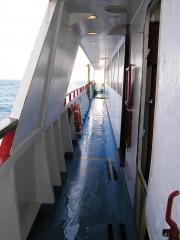 Alexandros Port Sun Deck Corridor
