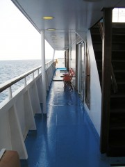 Alexandros Port Wheel Sun Deck Corridor
