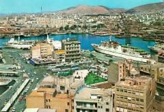 Piraeus Port partial view