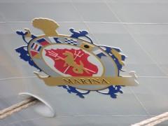 MARINA insignia