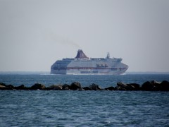 cruise olympia off patra 070713