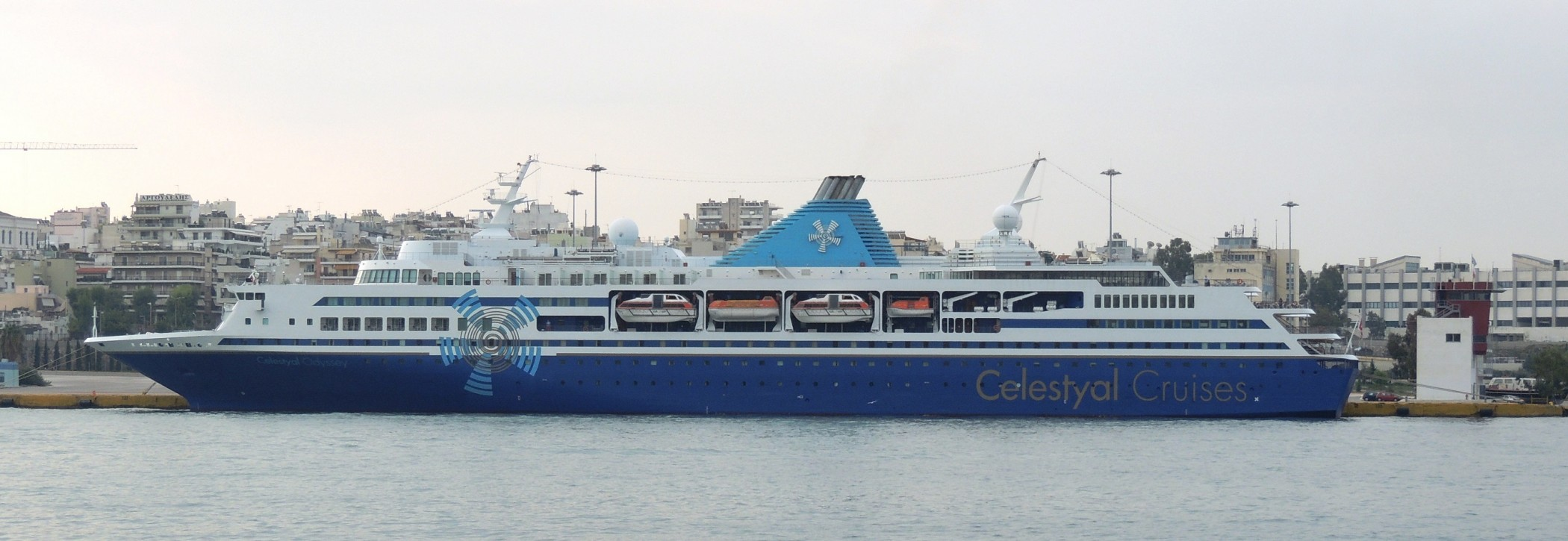 CELESTYAL ODYSSEY at Piraeus Port