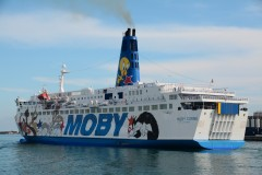 Moby Corse, 5th June 2014, in Genova