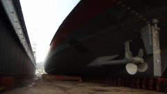 TAXIARCHIS ΟΝ DRY DOCK