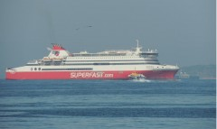 SUPERFAST XI out of Piraeus Port