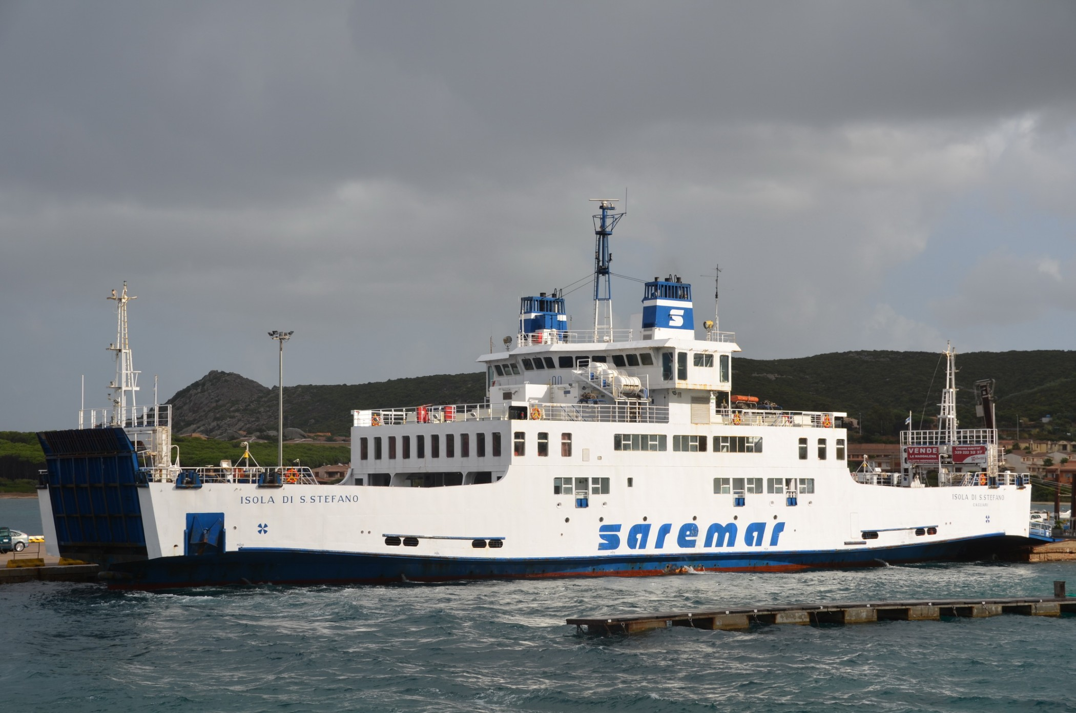 Isola Di S Stefano in Pallau