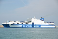 Eurocargo Livorno, 8th June 2013, sailing from Livorno