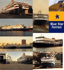 blue star  ferries all in one