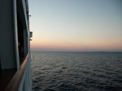 Sunset at Aegean Sea