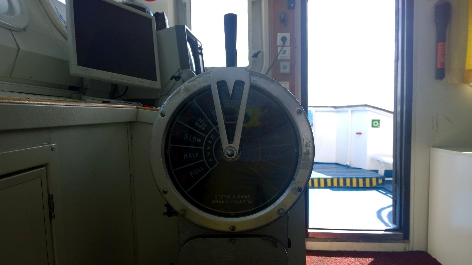 proteus engine telegraph 070914