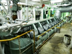 Superferry STBD Main Engine