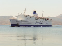 Agios Georgios arriving at Adamas port