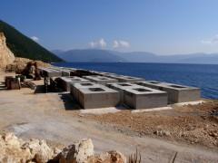 pisaetos ferry terminal under construction 130713