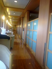 Blue Star 1 , Corridor next to AK 2 seats