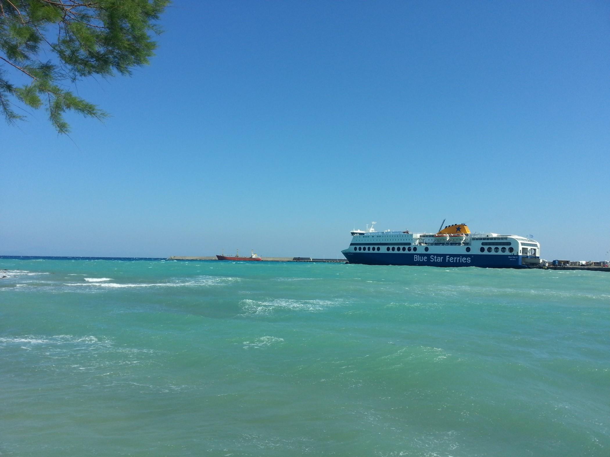 Blue Star 2 at Rhodes 20140313