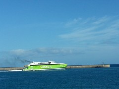 HighSpeed5 departing from Heraklion 20 9 2013
