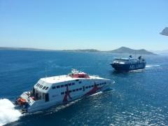 Aqua Spirit & Seajet2 @Naxos, 4 8 2103