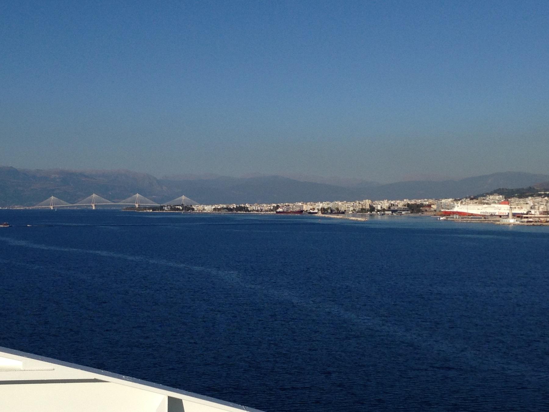 Patras old port