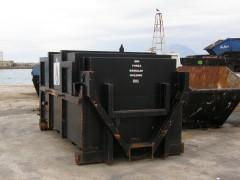forza garbage disposal bin@ patra 26122014