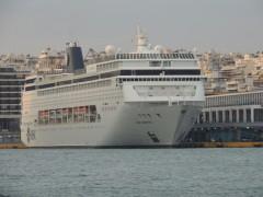MSC Armonia  @ Piraeus 9.10.2012