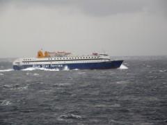 Diagoras @rough sea off kythnos 131207 e